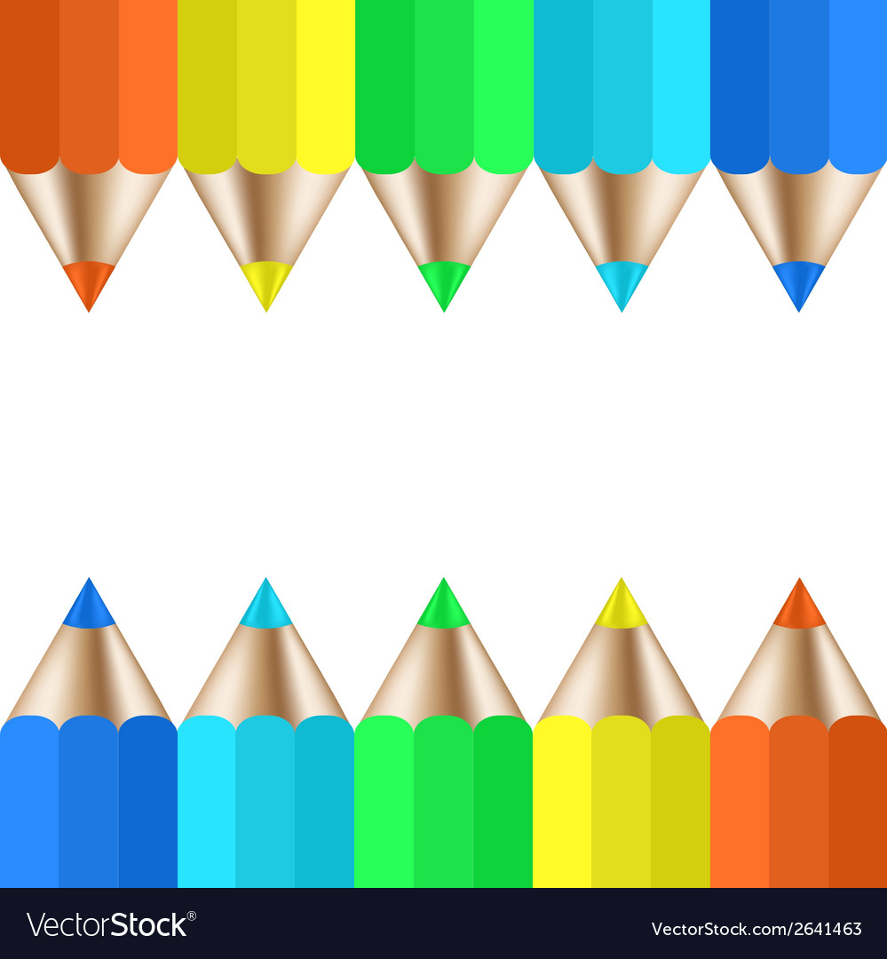 Modern pencil background vector | Price: 1 Credit (USD $1)