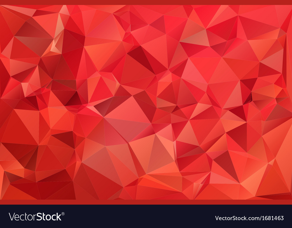 Red abstract background polygon vector | Price: 1 Credit (USD $1)