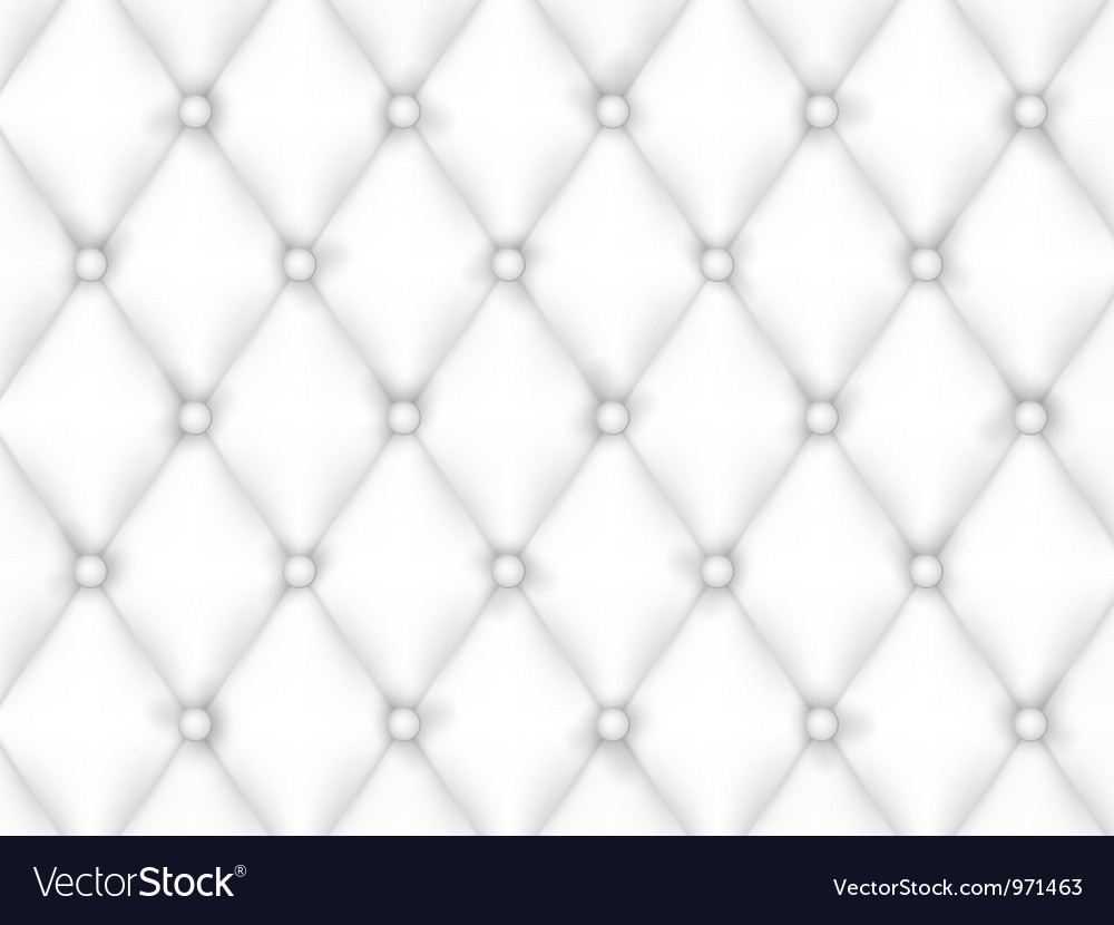 White leather upholstery background vector | Price: 1 Credit (USD $1)