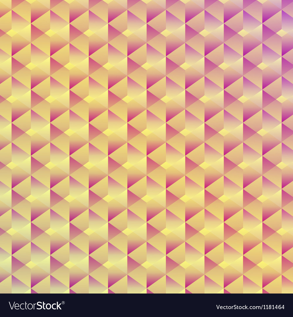Abstract seamless geometric cubic background vector | Price: 1 Credit (USD $1)