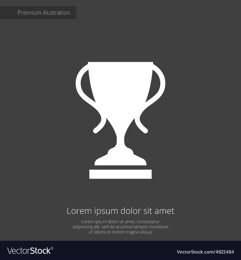 Cup premium icon vector | Price: 1 Credit (USD $1)