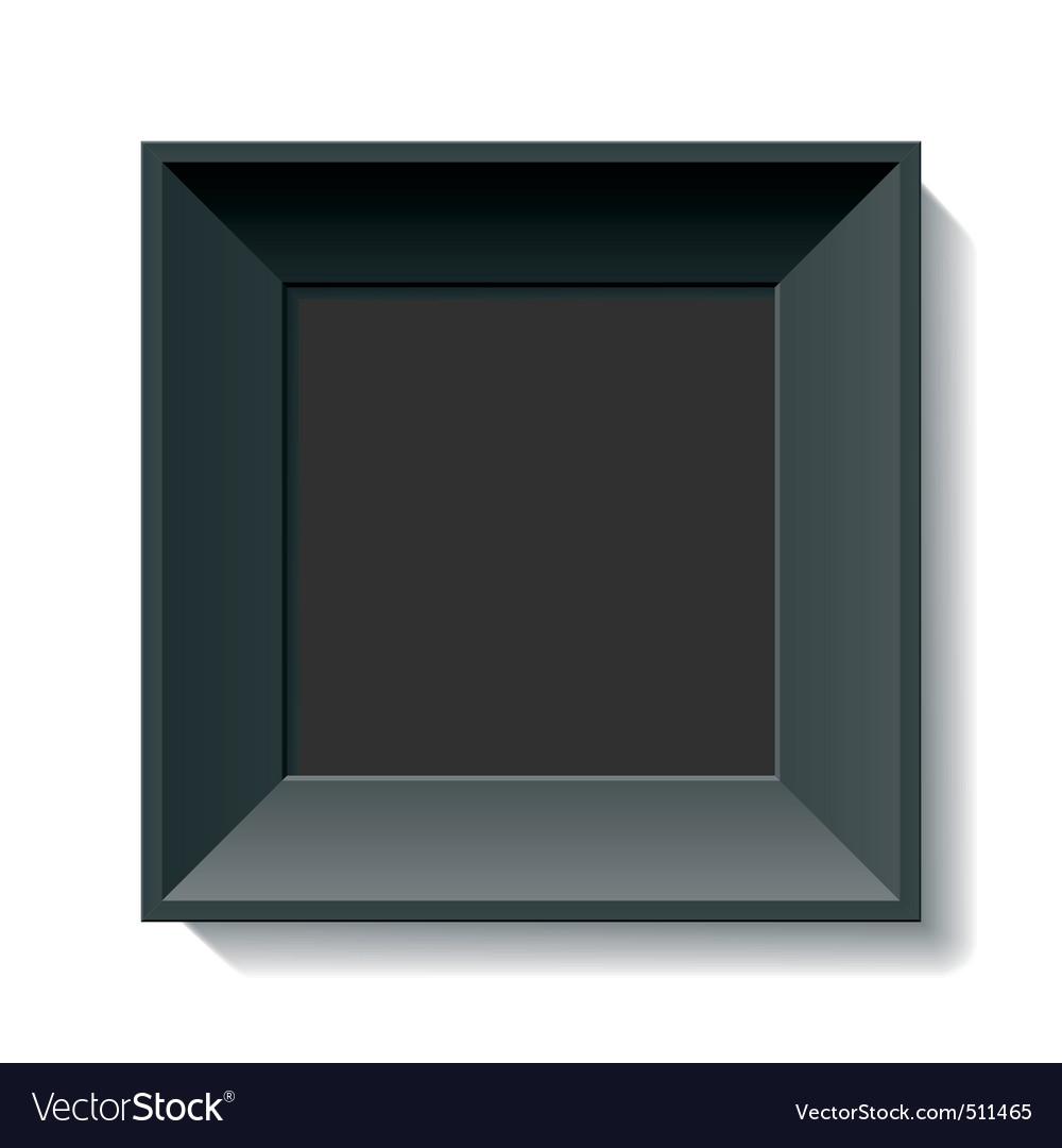 Black photo frame vector | Price: 1 Credit (USD $1)