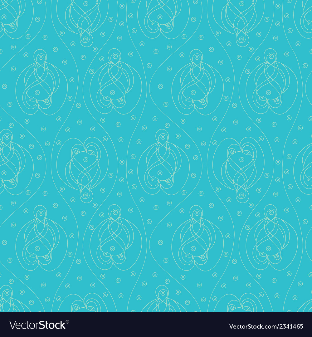 Blue indian pattern vector   Price: 1 Credit (USD $1)