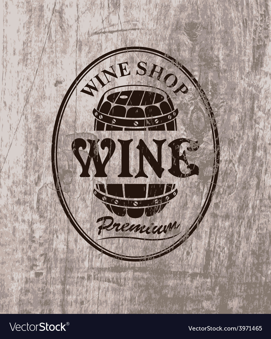Wine shop vector | Price: 1 Credit (USD $1)