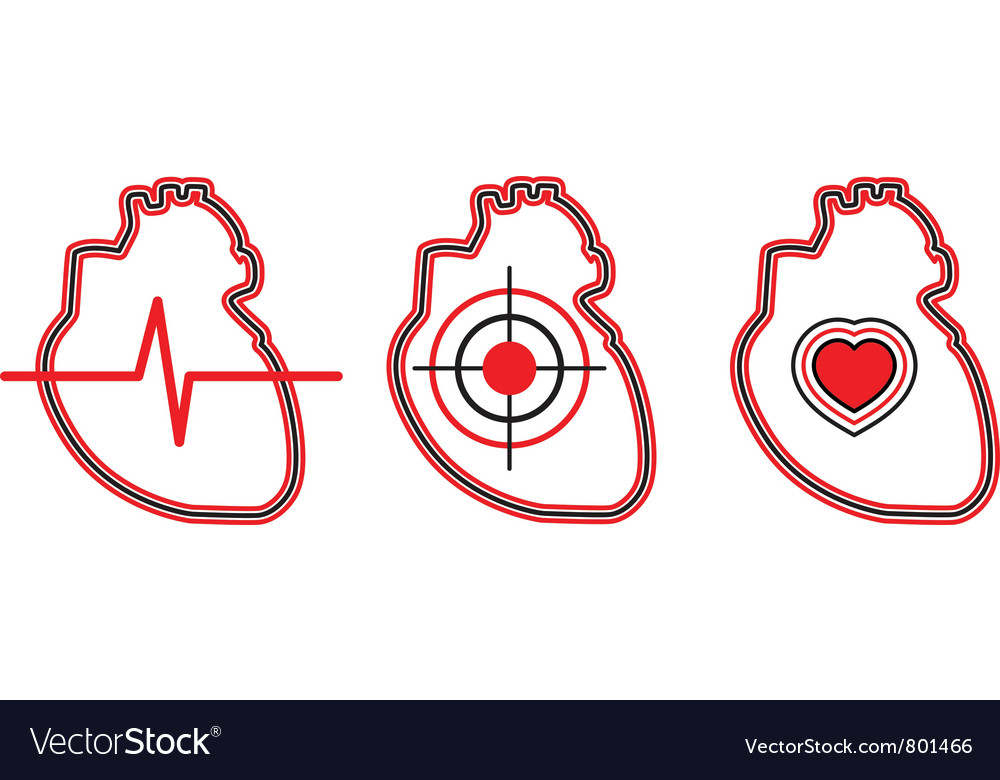 A set of three hearts can be used for the logo vector | Price: 1 Credit (USD $1)