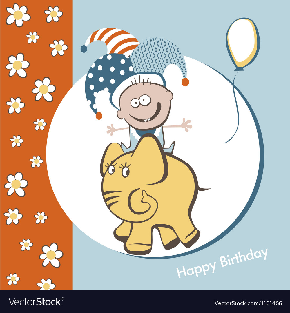 Birthday fun vector | Price: 1 Credit (USD $1)