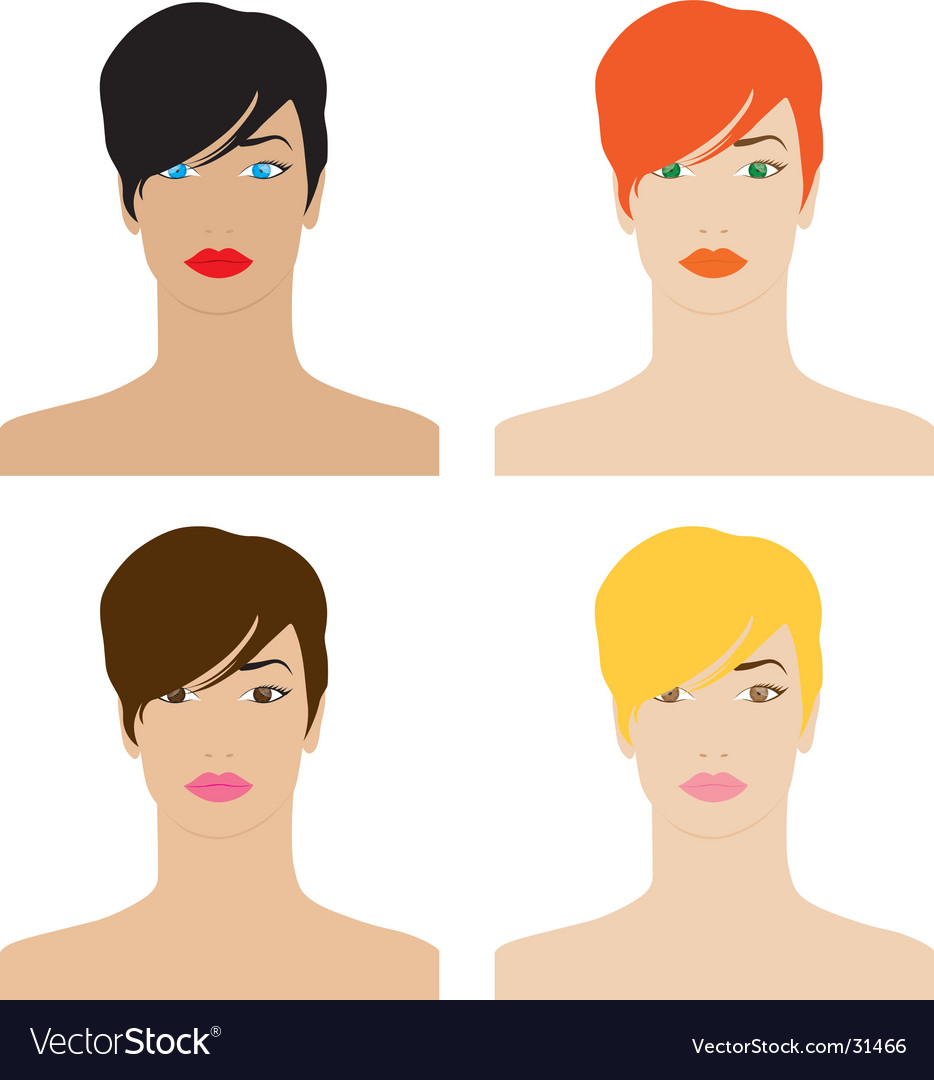 Faces vector | Price: 1 Credit (USD $1)