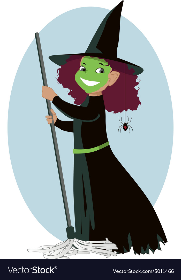 Little wicked witch vector   Price: 1 Credit (USD $1)