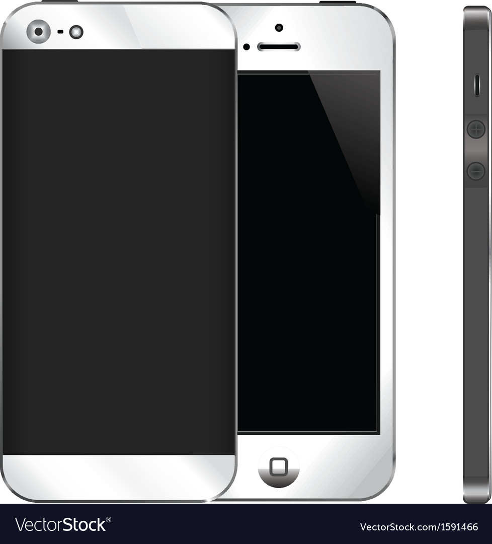 Mobile phone gadget vector | Price: 1 Credit (USD $1)