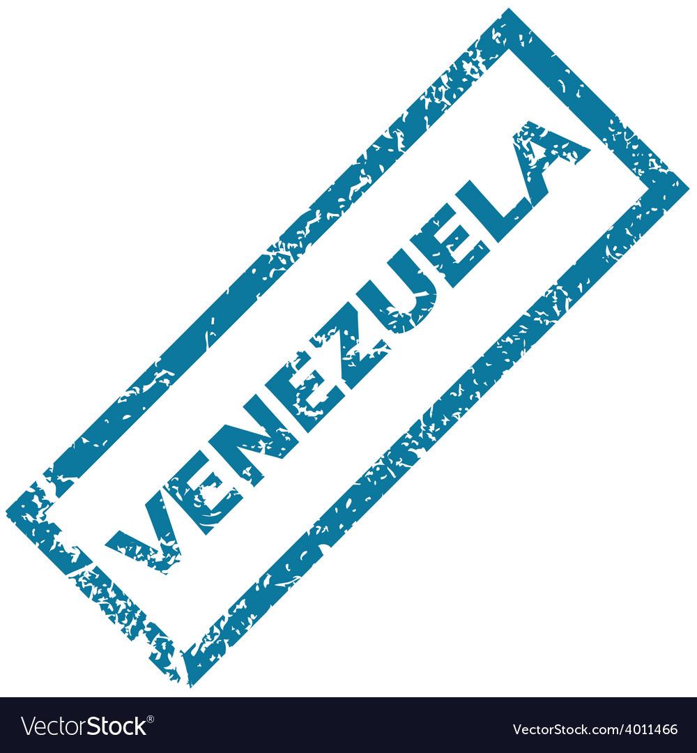 Venezuela rubber stamp vector | Price: 1 Credit (USD $1)