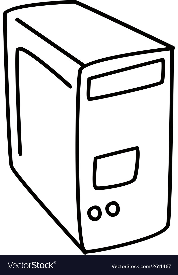 Computer technology design vector | Price: 1 Credit (USD $1)