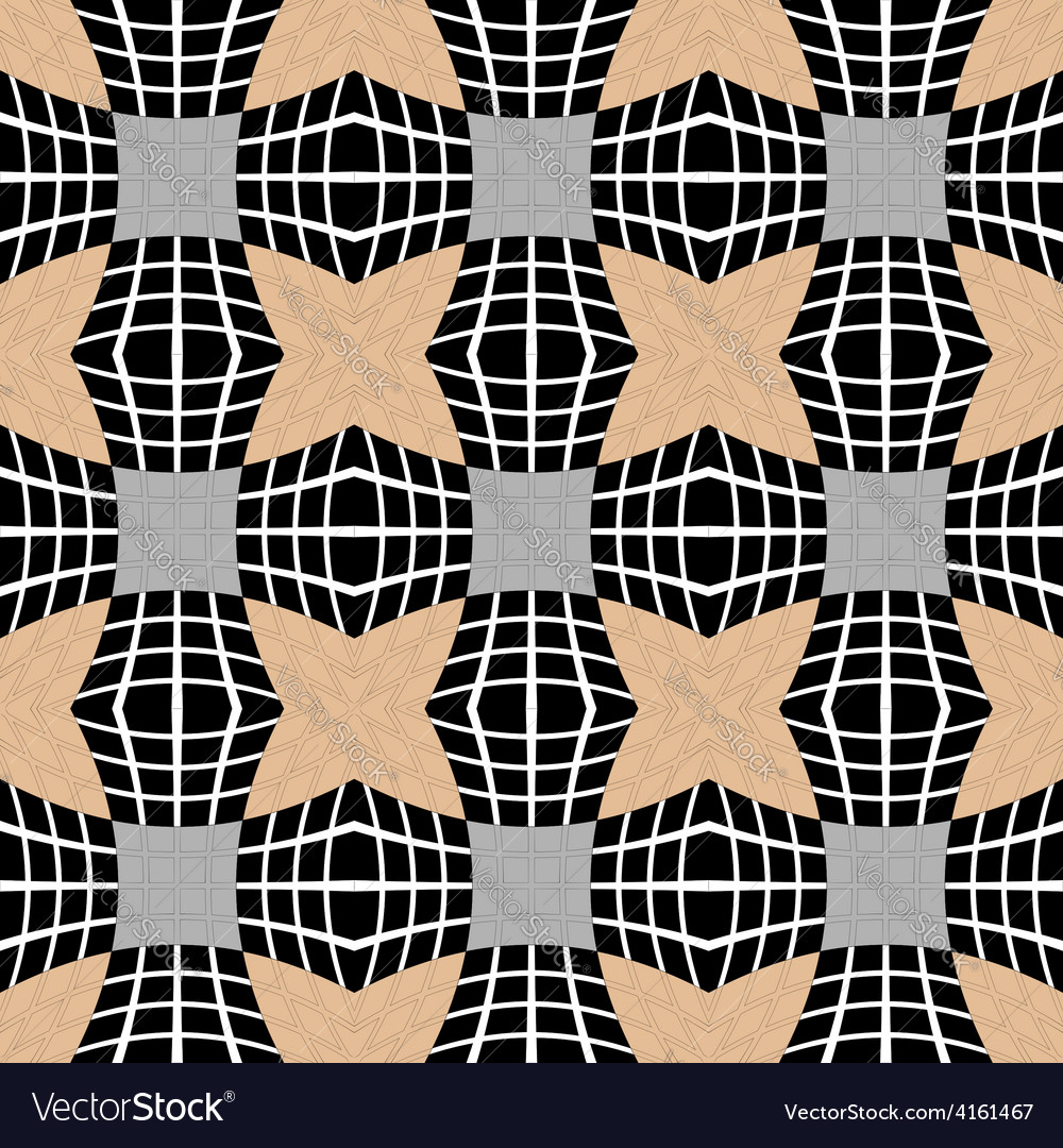 Design seamless checked pattern vector | Price: 1 Credit (USD $1)