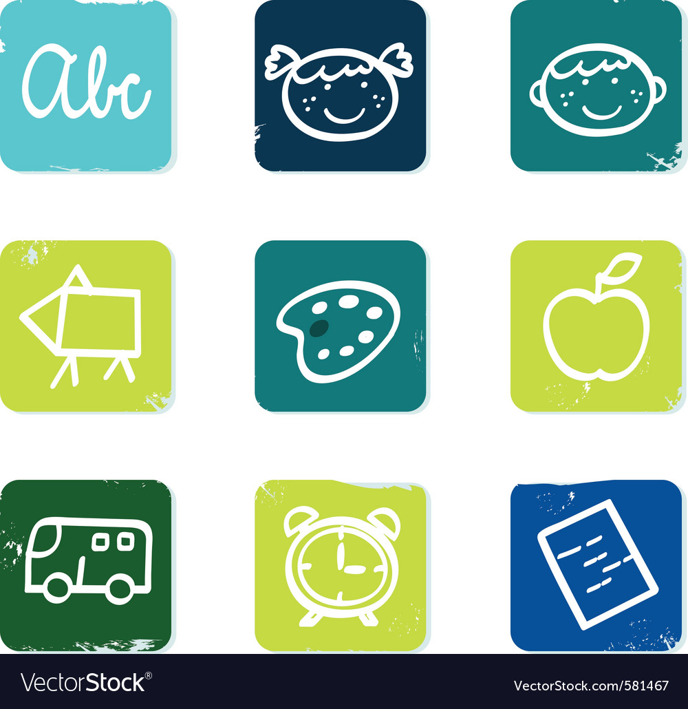 Doodle icons set vector | Price: 1 Credit (USD $1)