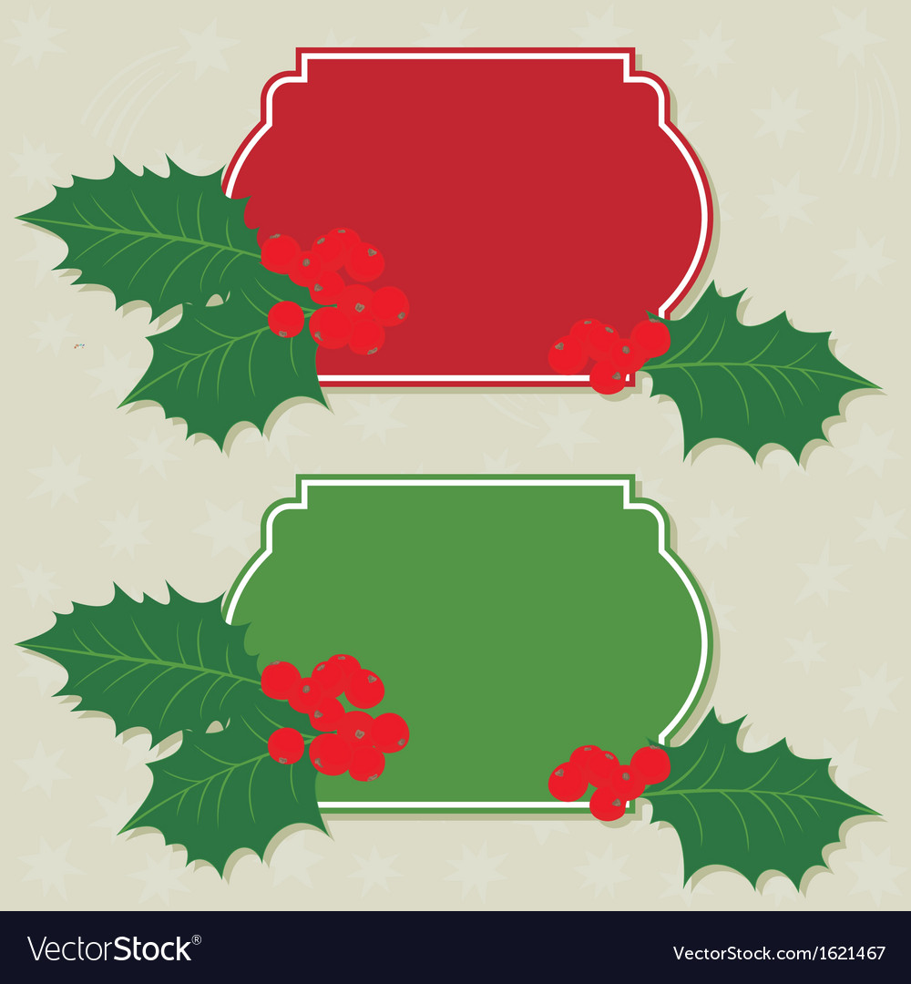 Home christmas made frames vector | Price: 1 Credit (USD $1)