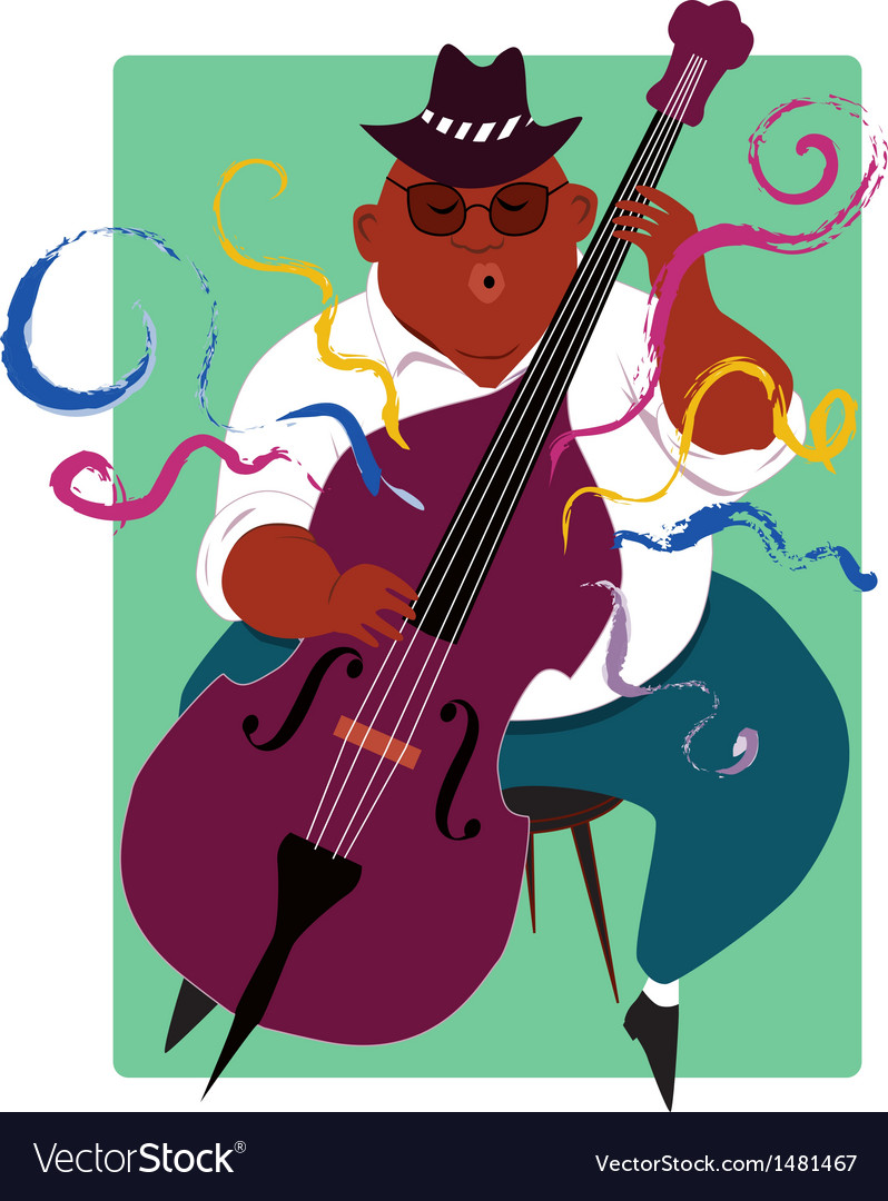 Jazz musician vector | Price: 3 Credit (USD $3)