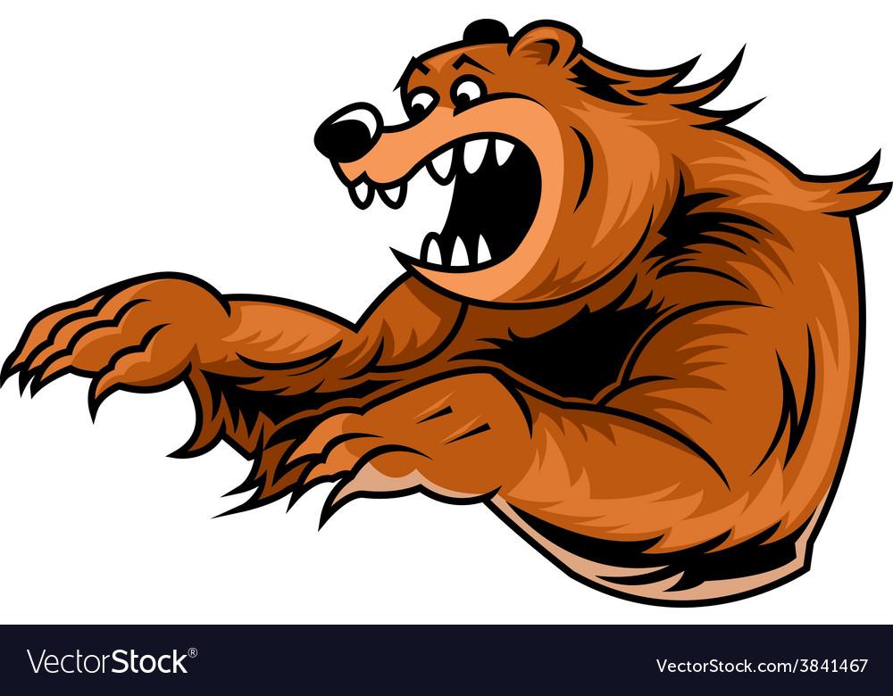 Roar bear vector | Price: 3 Credit (USD $3)
