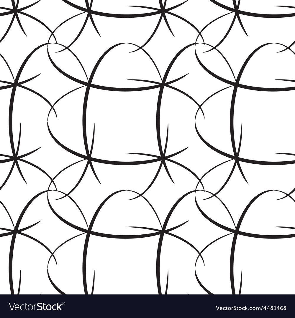 Seamless oval lined vector | Price: 1 Credit (USD $1)