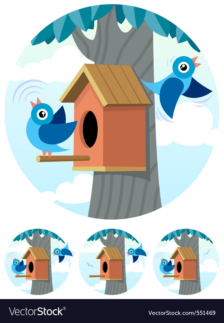 Birdhouse vector | Price: 3 Credit (USD $3)