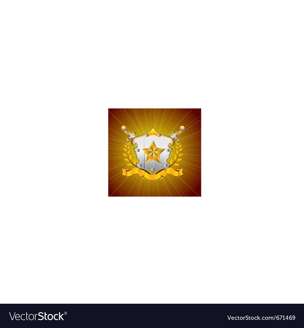 Heraldic element vector | Price: 1 Credit (USD $1)