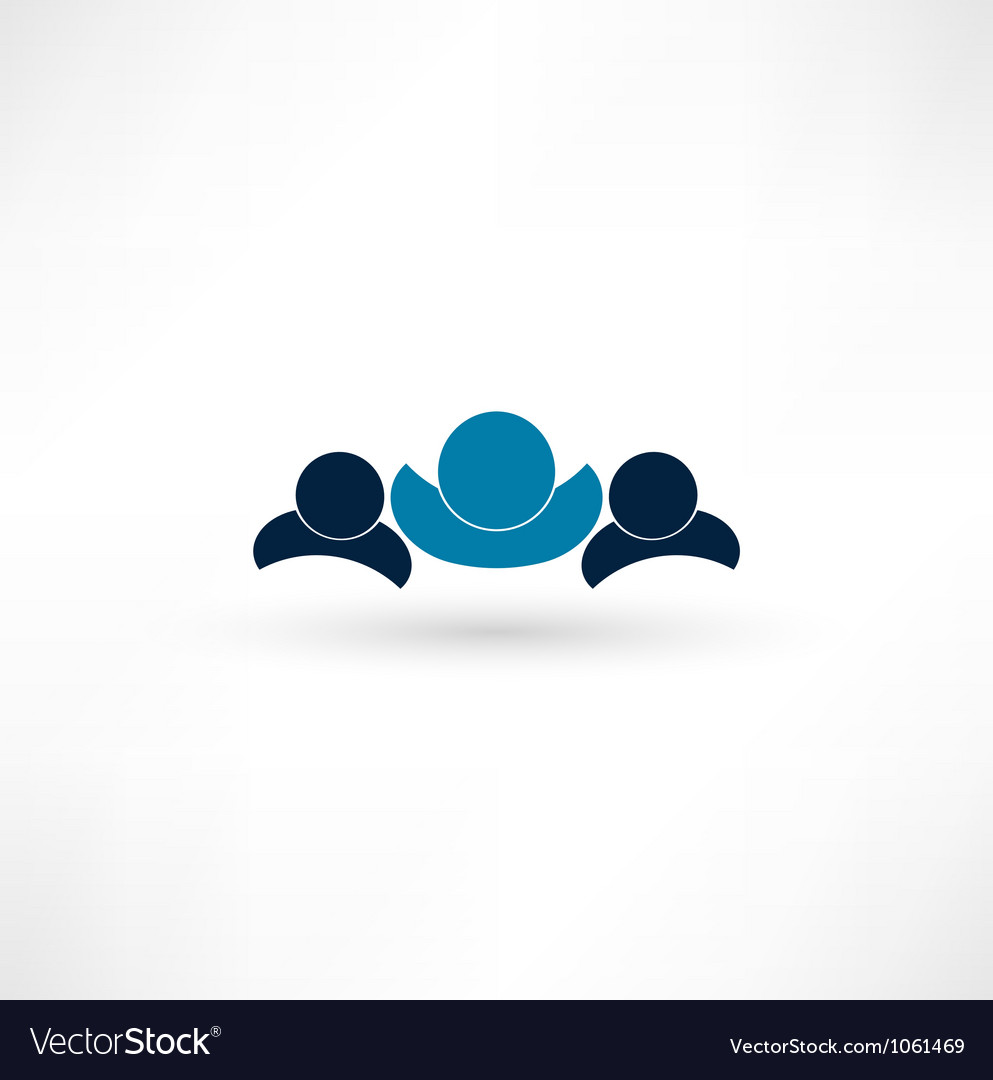 Leader concept vector | Price: 1 Credit (USD $1)
