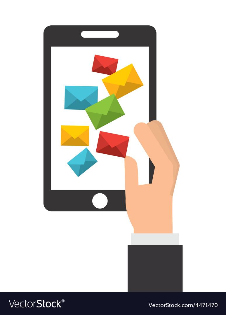 E-mail concept vector | Price: 1 Credit (USD $1)