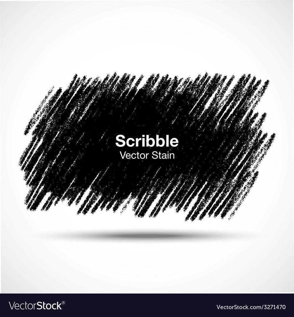 Scribble stain hand drawn in pencil logo design e vector | Price: 1 Credit (USD $1)
