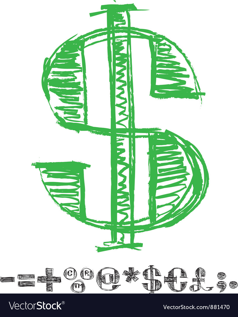 Sketch alphabet new 06 vector | Price: 1 Credit (USD $1)