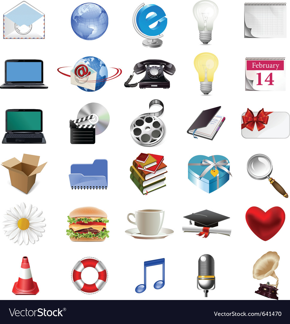 Web icons vector | Price: 3 Credit (USD $3)