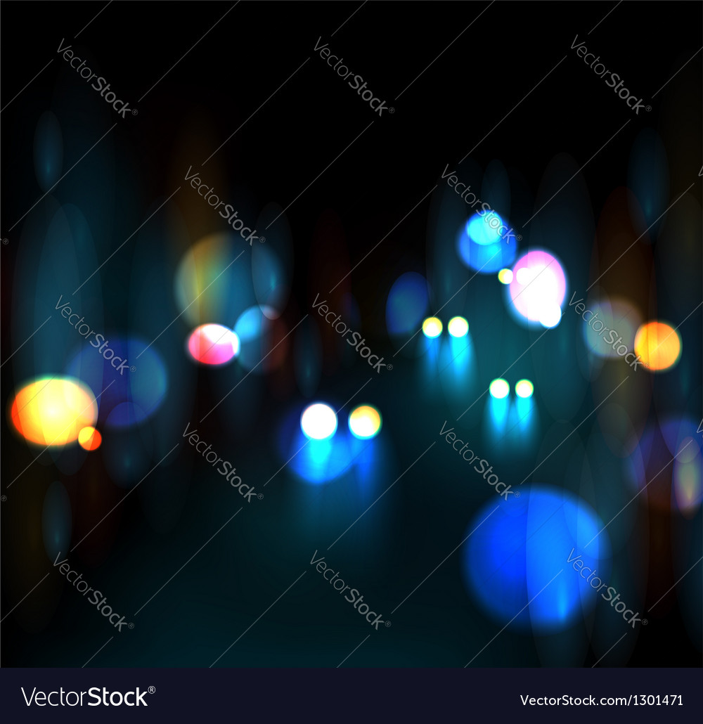 City nightlife vector | Price: 1 Credit (USD $1)
