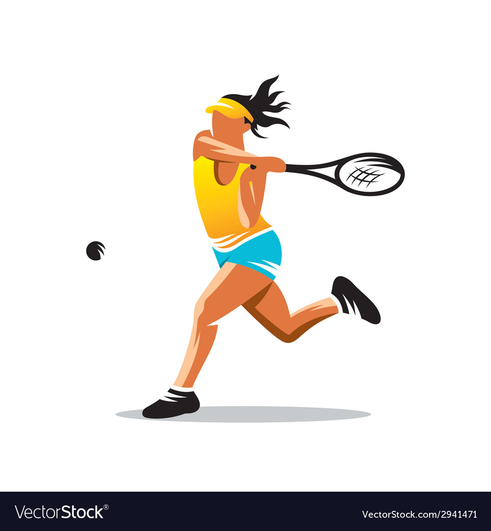 Tennis sign vector | Price: 1 Credit (USD $1)