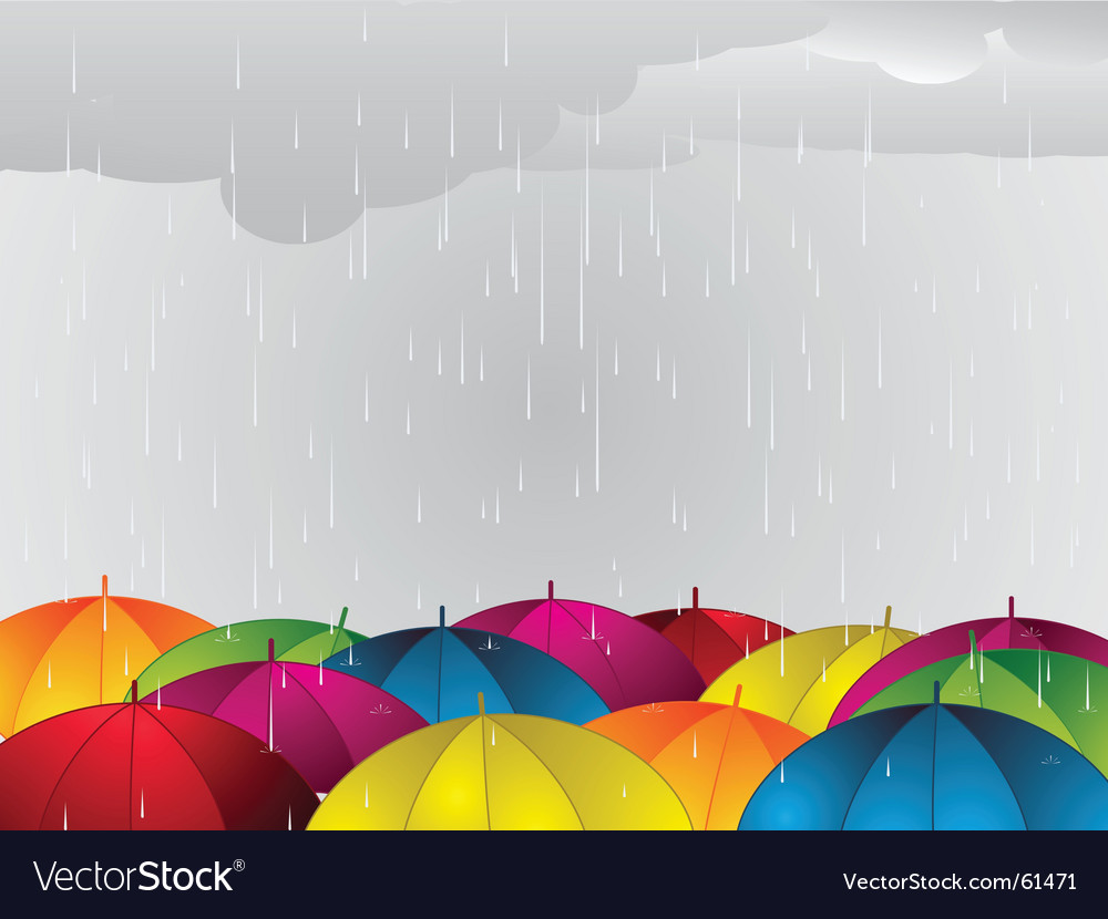 Umbrella background vector | Price: 1 Credit (USD $1)