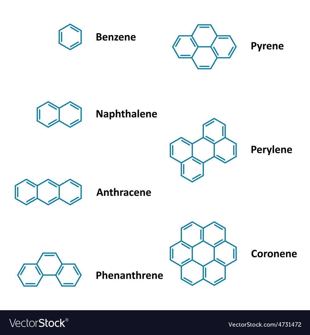 Chemical structural formulas vector | Price: 1 Credit (USD $1)