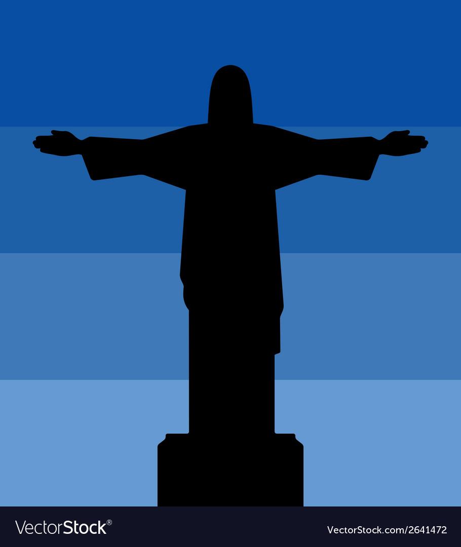 Rio de jeneiro icon sky vector | Price: 1 Credit (USD $1)