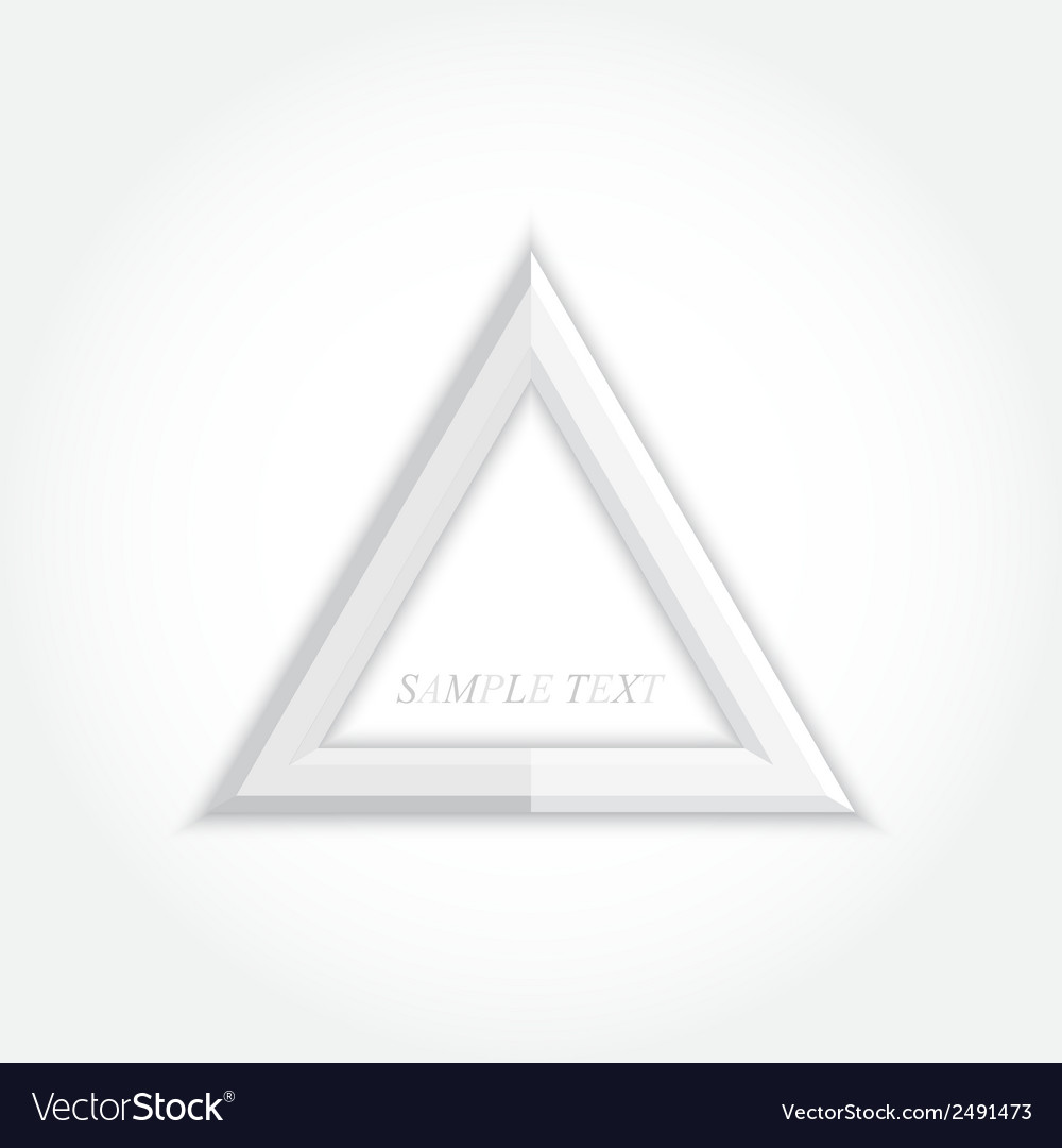 3d abstract background and triangle icon design vector | Price: 1 Credit (USD $1)