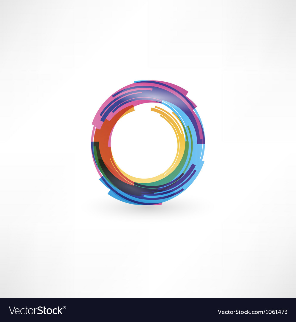 Circular symbol vector | Price: 1 Credit (USD $1)