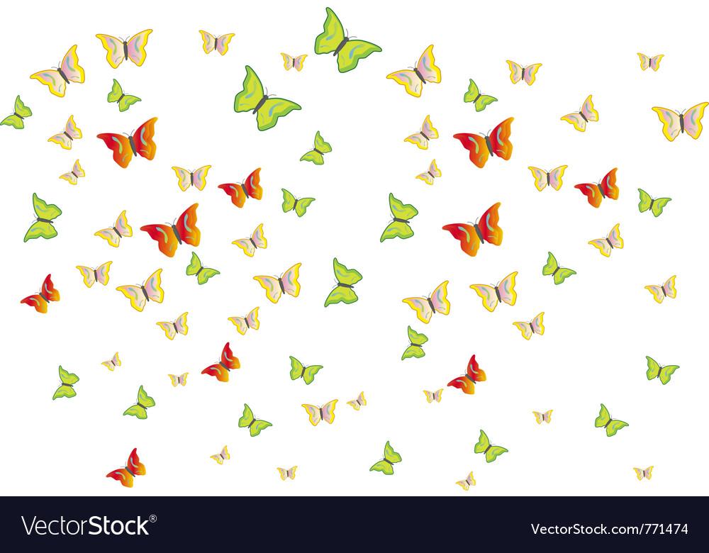 Butterflies swarm vector   Price: 1 Credit (USD $1)