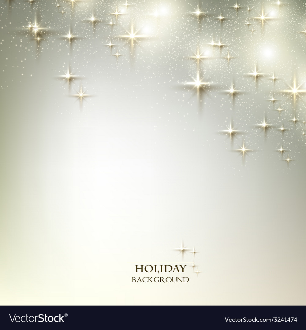Elegant christmas background with stars vector | Price: 3 Credit (USD $3)