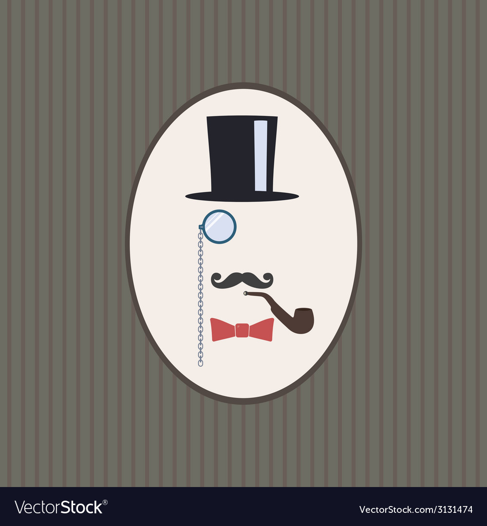 Gentleman vector | Price: 1 Credit (USD $1)