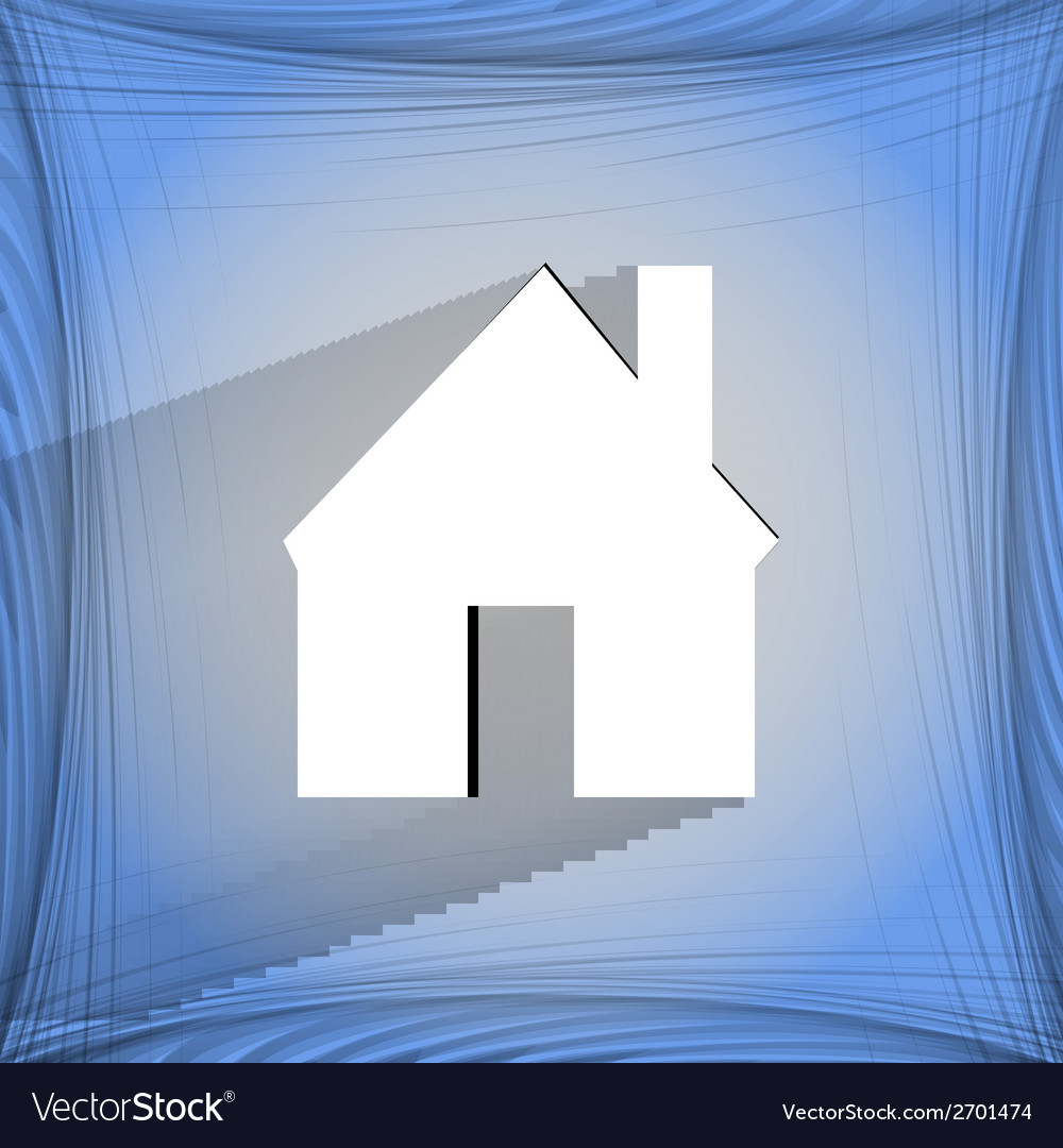 Home flat modern web design on a flat geometric vector   Price: 1 Credit (USD $1)