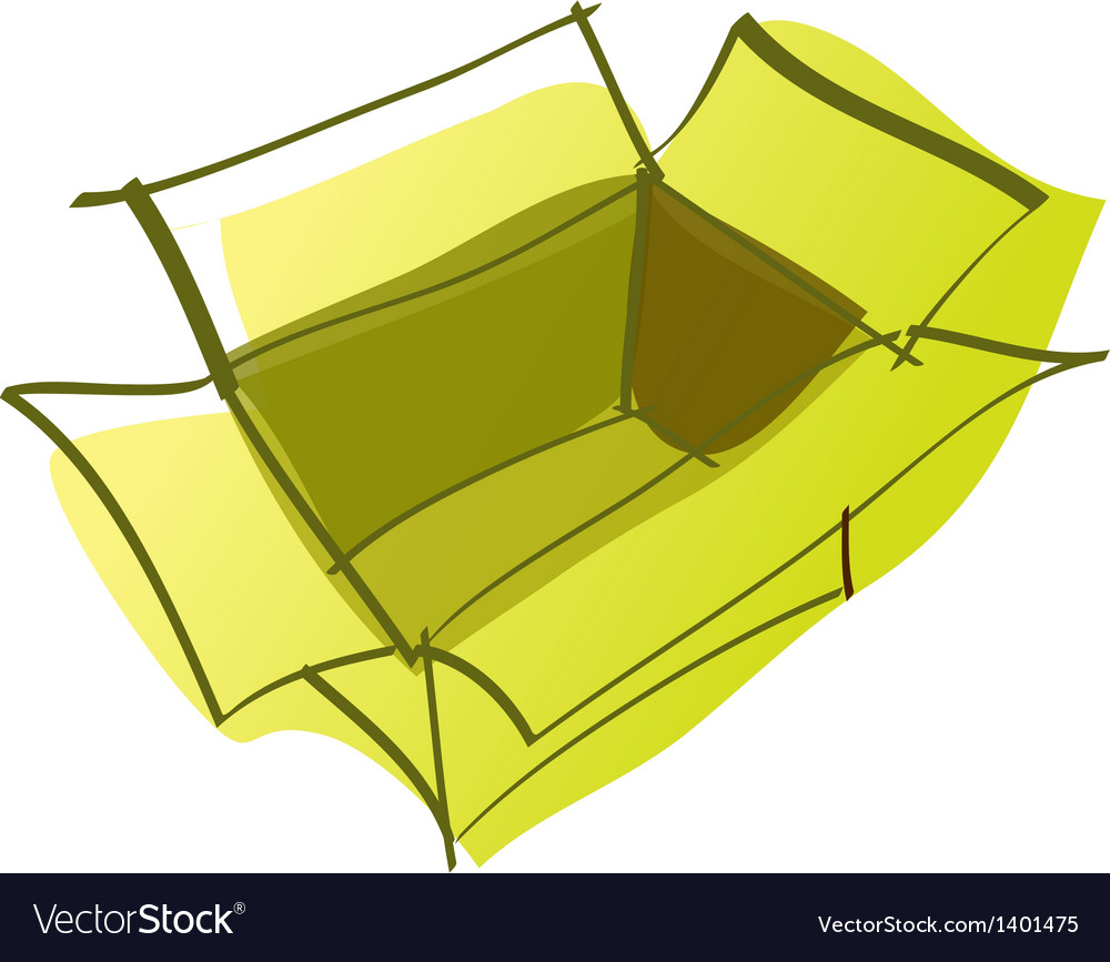 A package is placed vector