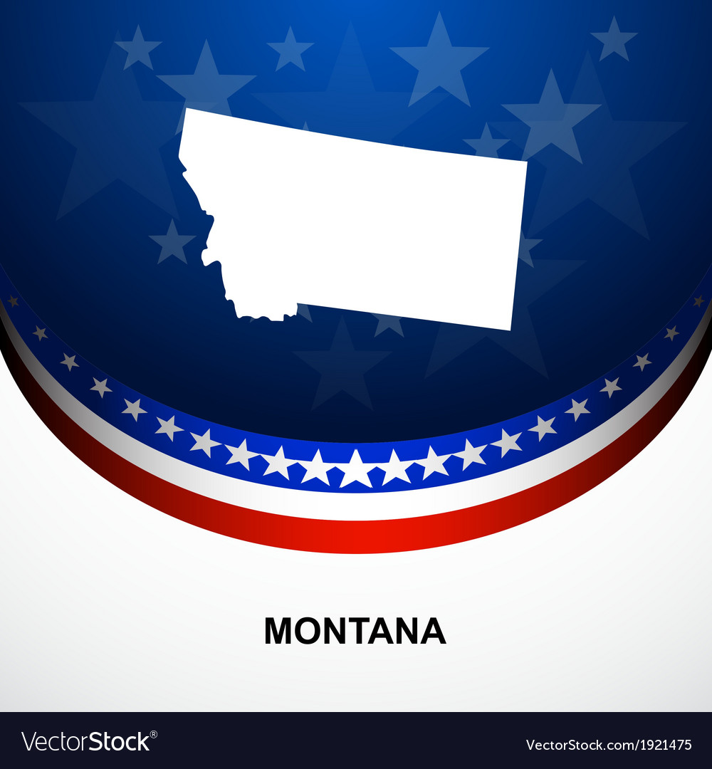 Montana vector | Price: 1 Credit (USD $1)