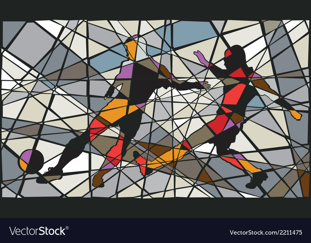 Soccer mosaic vector | Price: 1 Credit (USD $1)