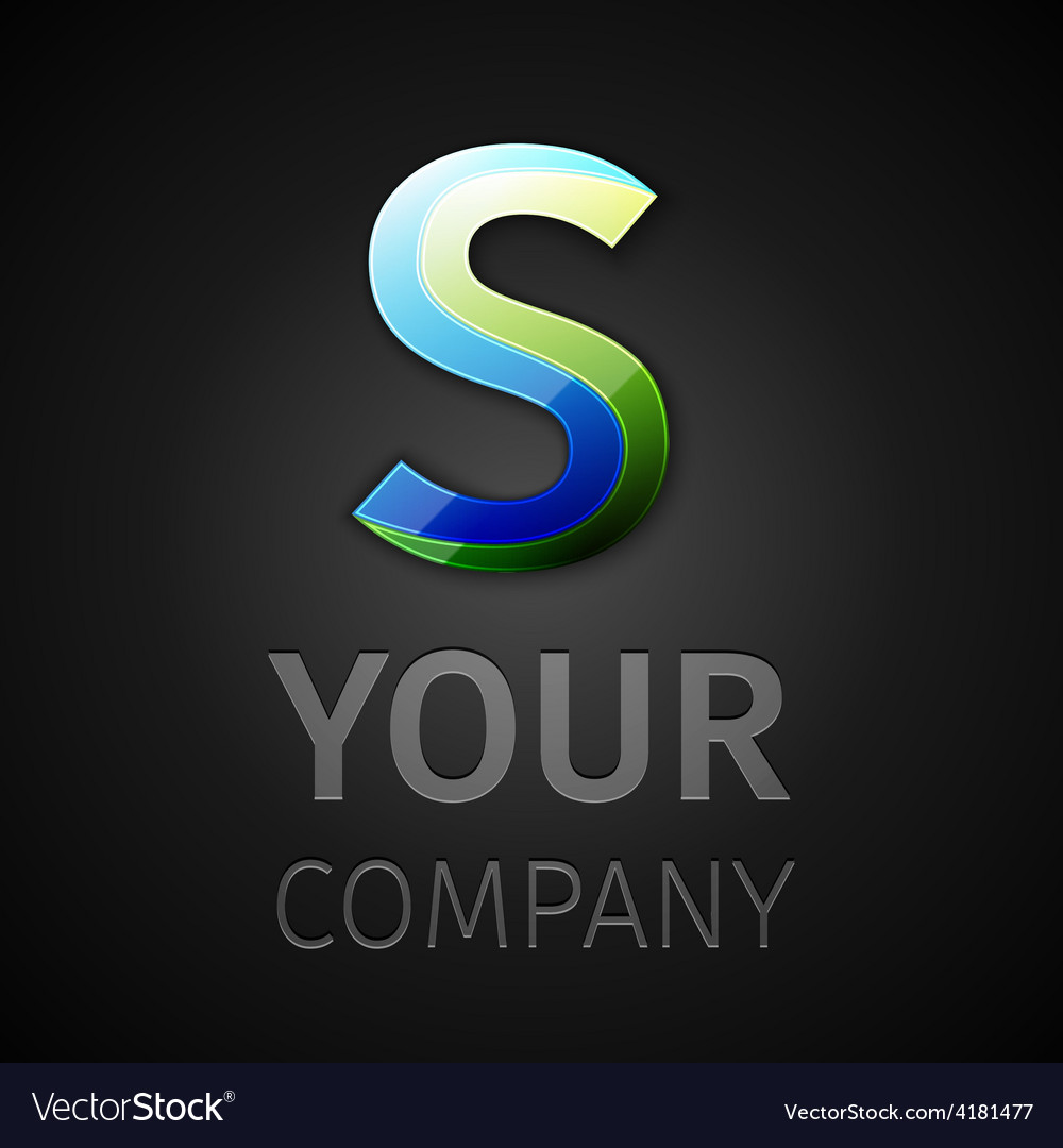 Abstract logo letter s vector | Price: 1 Credit (USD $1)
