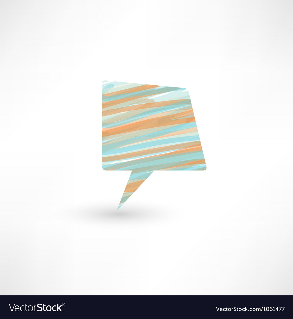 Abstract talking bubble vector   Price: 1 Credit (USD $1)