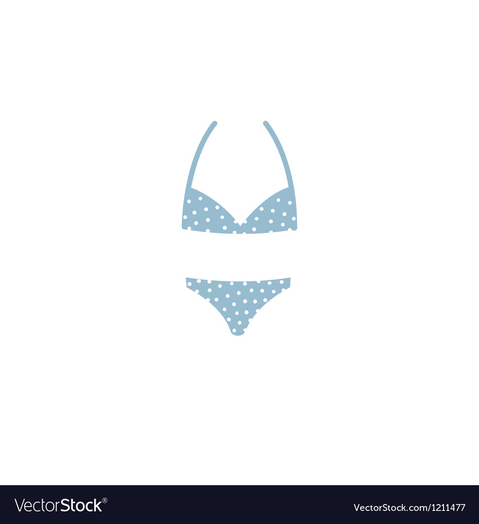 Bikini icons vector | Price: 1 Credit (USD $1)
