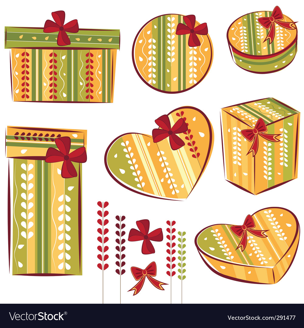Gift box vector | Price: 3 Credit (USD $3)