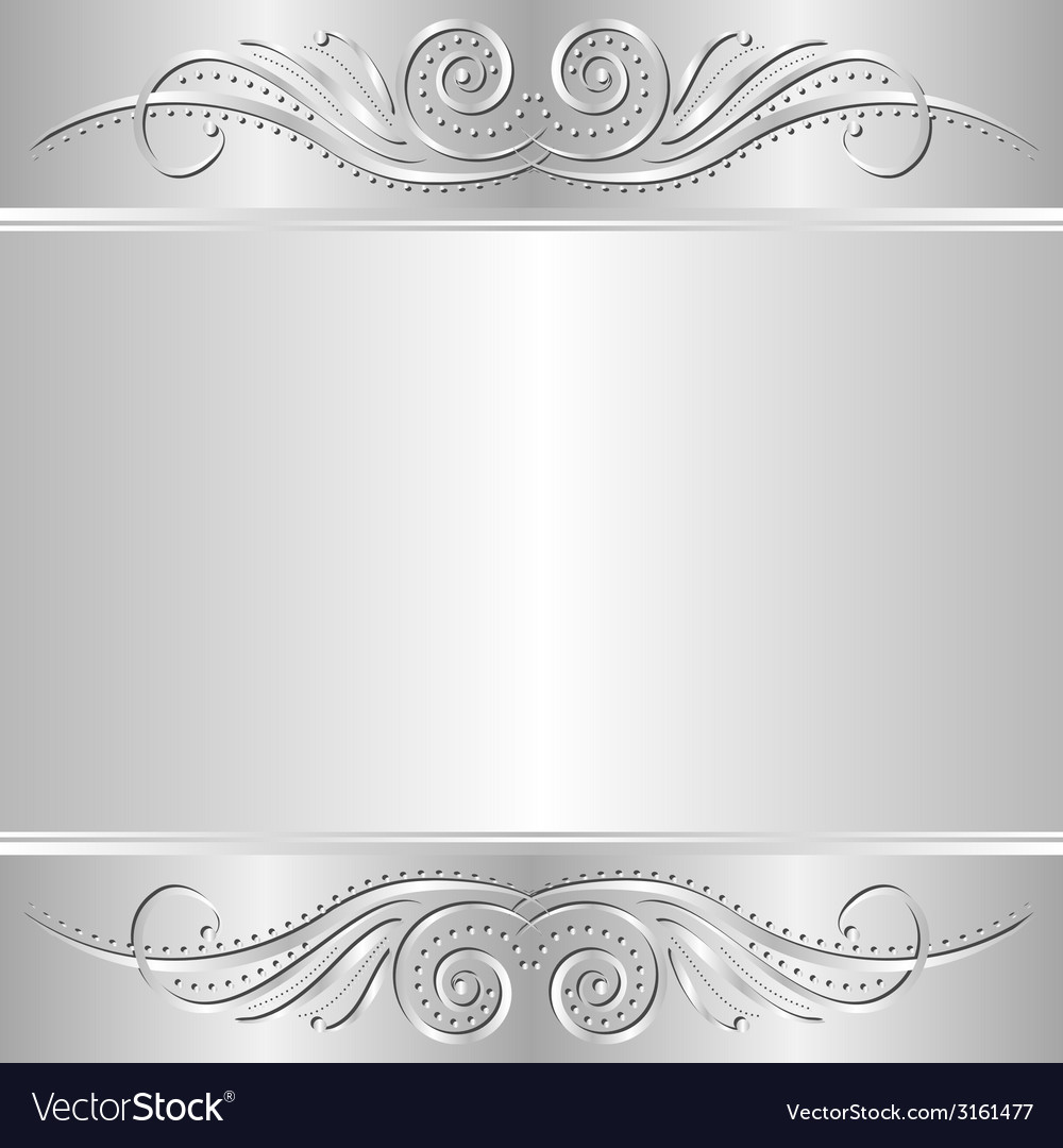 Silver background vector | Price: 1 Credit (USD $1)