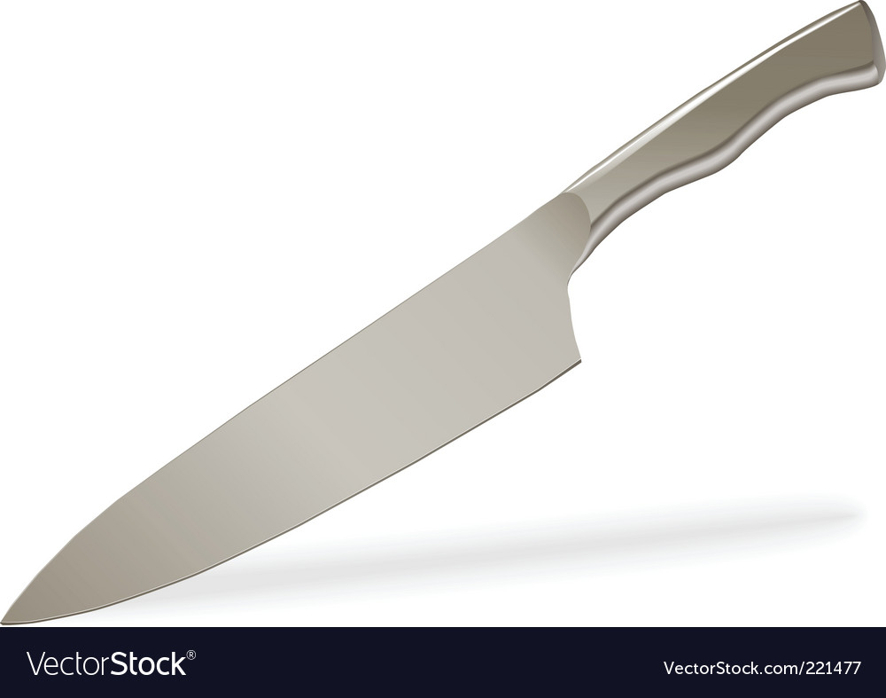 Steel knife vector | Price: 1 Credit (USD $1)