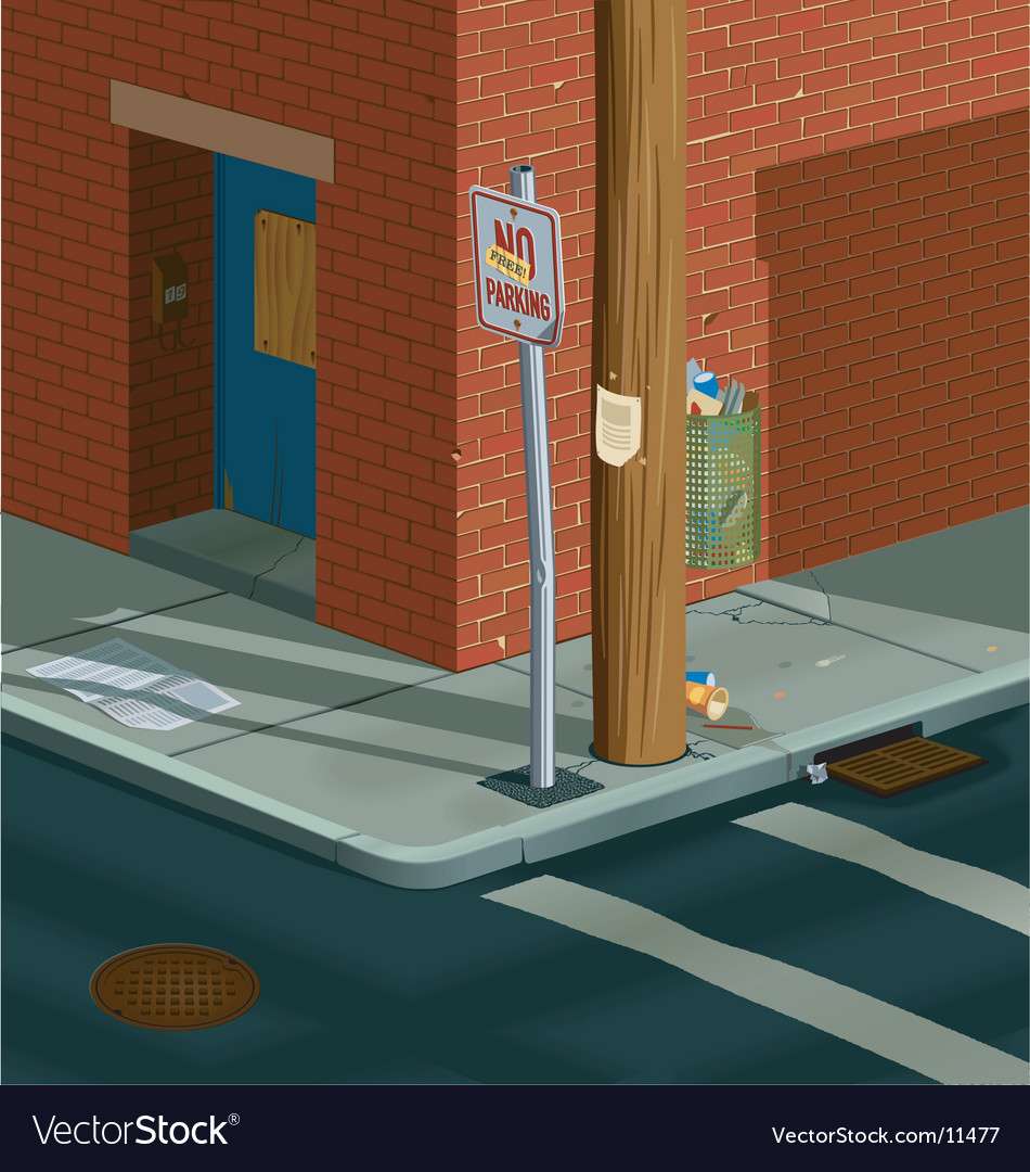Street corner vector   Price: 5 Credit (USD $5)