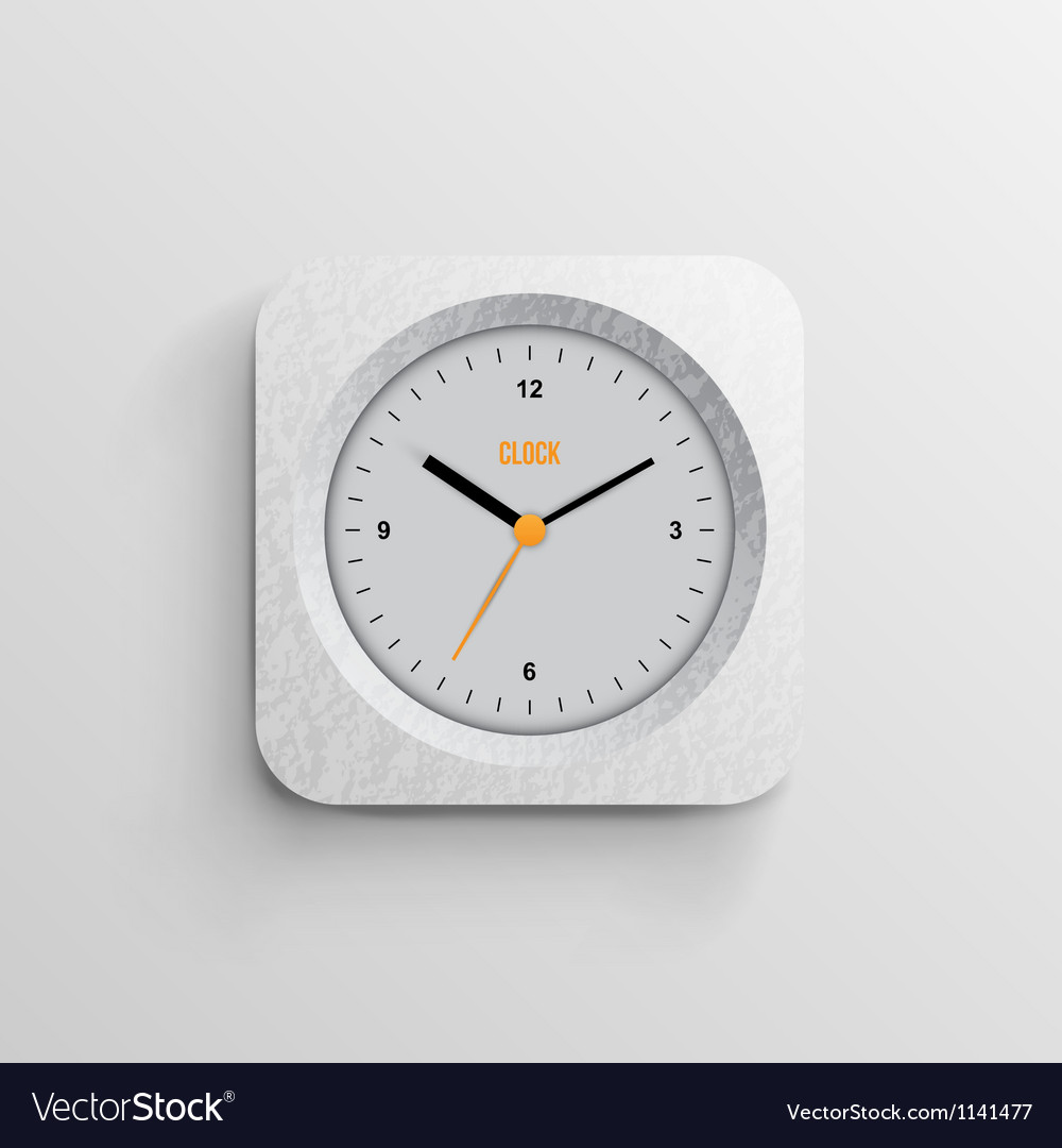 Time for design concept clock vector | Price: 3 Credit (USD $3)